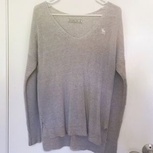 abercrombie and fitch v-neck sweater